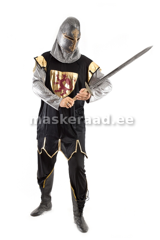 5551653ab50 A medieval knight in black armor (1984)